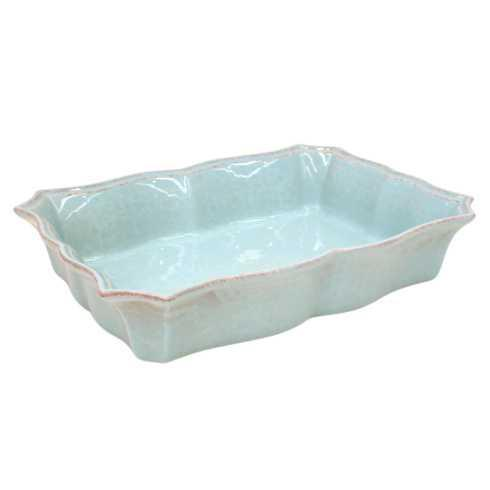 Casafina  Impressions - Robin's Egg Blue Medium Rectangular Baker $48.50