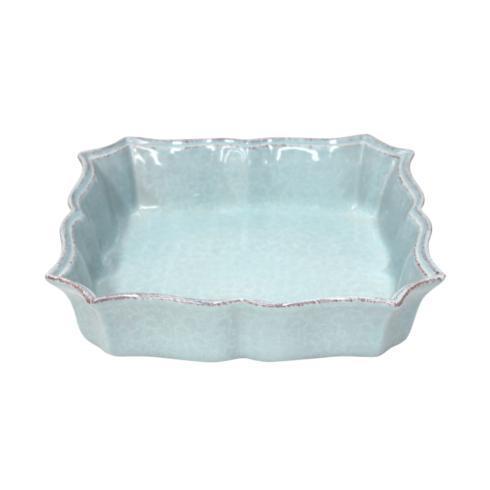 Casafina  Impressions - Robin\'s Egg Blue Square Baker $44.00
