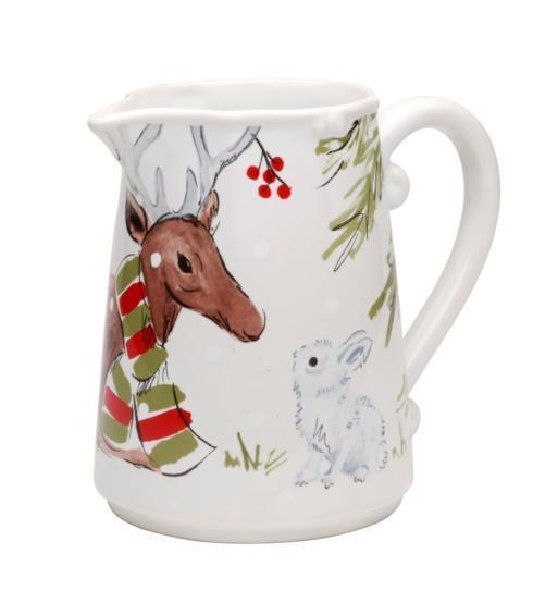 Casafina  Deer Friends Pitcher White $62.75