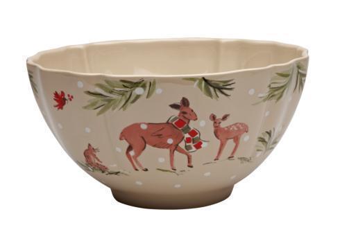 Casafina  Deer Friends Large Tall Bowl $69.00