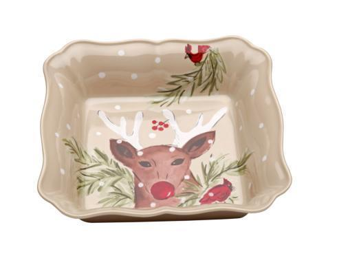 Casafina  Deer Friends Square Baker $49.00