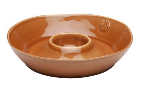 Casafina  Forum - Cognac Chip & Dip $59.50