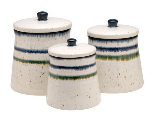 $99.00 Canisters Set/3, White