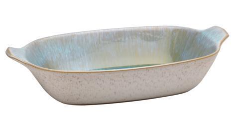 Casafina  Ibiza - Sea Lg. Rect. Baker w/Handles, Sea $69.50