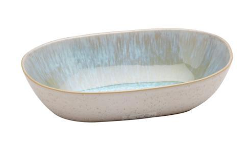 $32.00 Small Oval Bowl, Sea