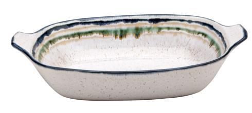 Casafina  Sausalito - White Lg. Rect. Baker w/Handles, White $74.75