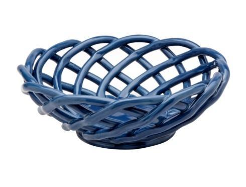 Casafina  Ceramic Baskets Medium Round Basket $52.75