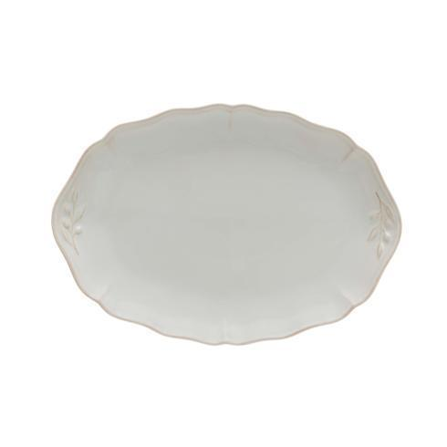 "Costa Nova  Alentejo - White Oval Platter 13"" $51.50"