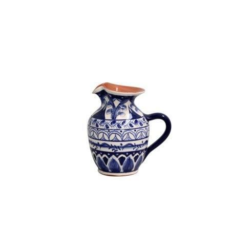 Casafina  Alentejo Terracota - Indigo Small Pitcher $73.50