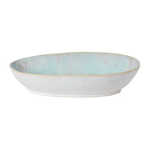"""Casafina  Eivissa - Sea Blue Oval Baker 13"""" $46.00"""