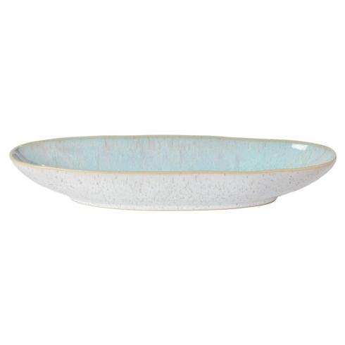 """Casafina  Eivissa - Sea Blue Oval Platter 13"""" $28.50"""