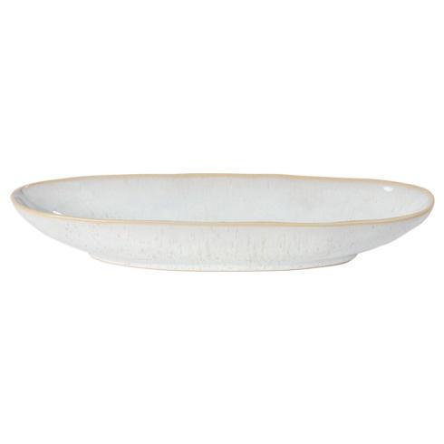 """Casafina  Eivissa - Sand Beige Oval Platter 13"""" $28.50"""