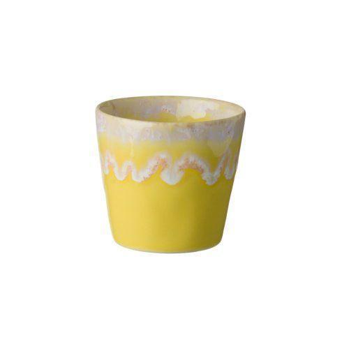 Costa Nova  Grespresso Espresso Cup 3 oz. Yellow $10.50
