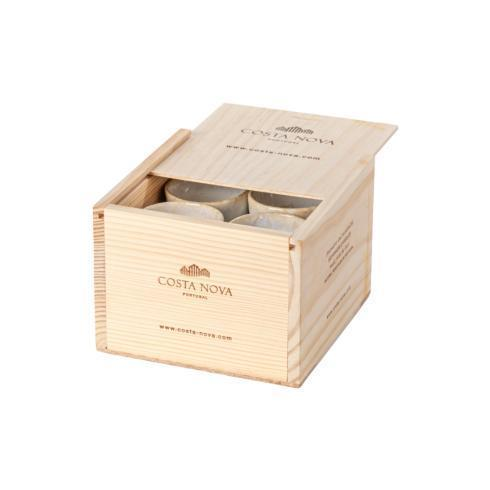 $89.00 Gift Box Set 8 Espresso Cups (White)