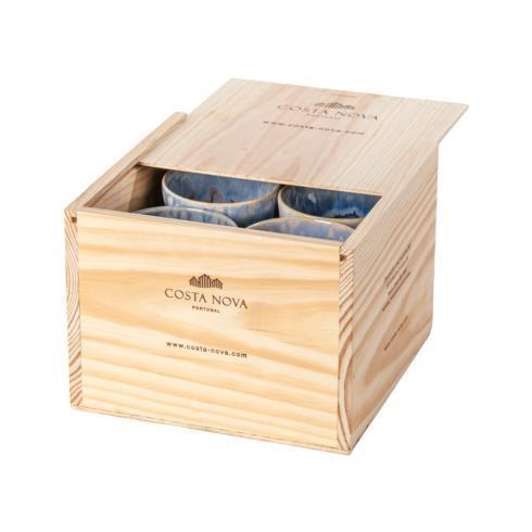 $159.00 Gift Box Set 8 Lungo Cups (Denim)