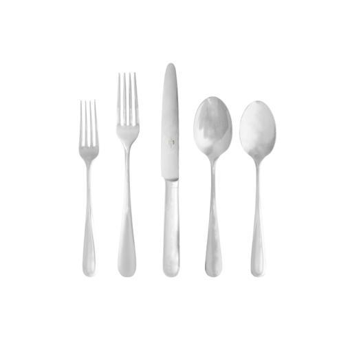 $64.00 Flatware 5 Pc Set  With Box 1