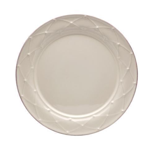 Casafina  Meridian - Cream Round Salad Plate $28.50