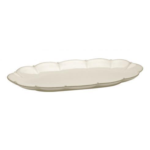 Casafina  Meridian - Cream Oval Tray $43.00