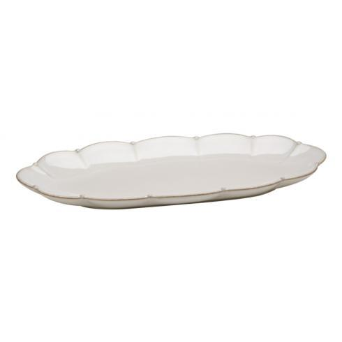 Casafina  Meridian - White Oval Tray $43.00