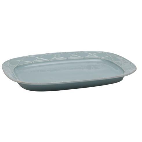 Casafina  Meridian - Blue Large Rectangular  Platter $65.00