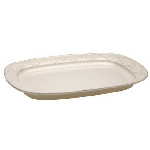 Casafina  Meridian - Cream Large Rectangular  Platter $75.00