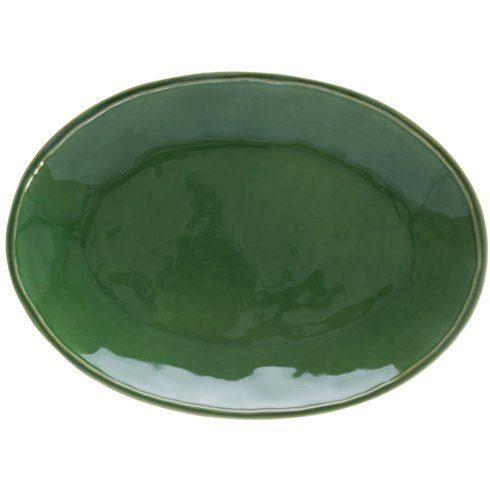 Casafina  Fontana - Forest Green Oval Platter $64.00