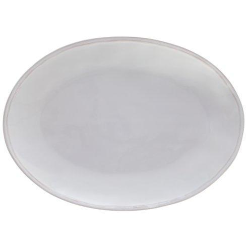 "Casafina  Fontana - White Oval Platter 16"" $67.00"
