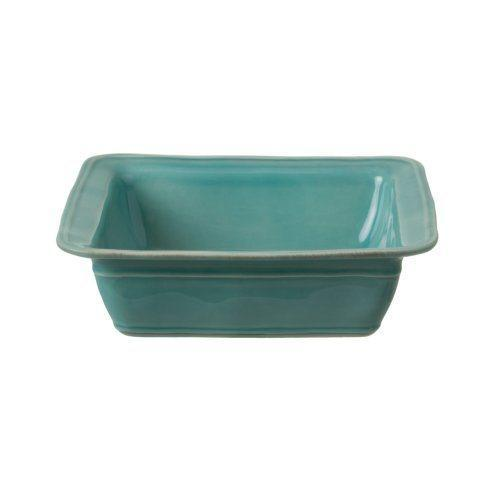 Casafina  Fontana - Turquoise Square Baker $45.00