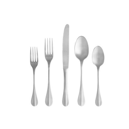 Costa Nova  Nau Flatware 5 Pieces Brushed $53.00