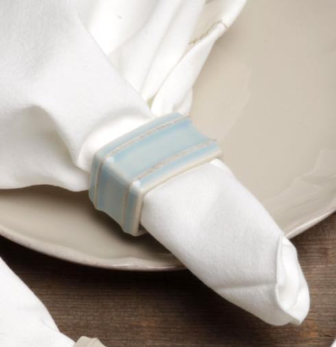 Napkin Ring, Robin\'s Egg Blue