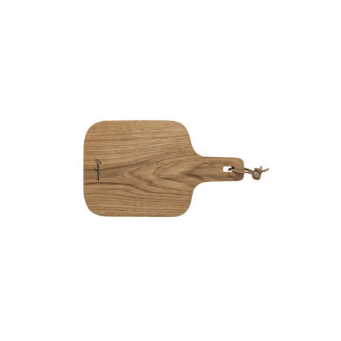 $29.00 Oak Wood Cutting/Serving Board w/ Handle 12""