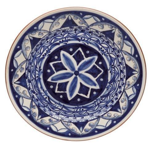 Casafina  Alentejo Terracota - Indigo Dinner Plate $72.50