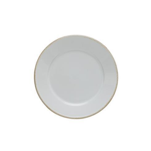"Costa Nova  Luzia - Cloud White Round Salad/Dessert Plate 9"" $23.00"