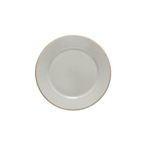 "Costa Nova  Luzia - Ash Grey Round Salad/Dessert Plate 9"" $23.00"