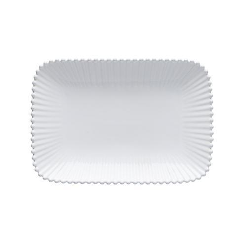 Costa Nova  Pearl - White Medium Rectangular Platter $58.00