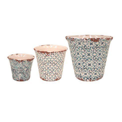 $99.00 Set/3 Flowerpots