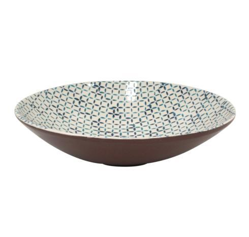 Casafina  Piastrella - Blue Medium Serving Bowl $64.00