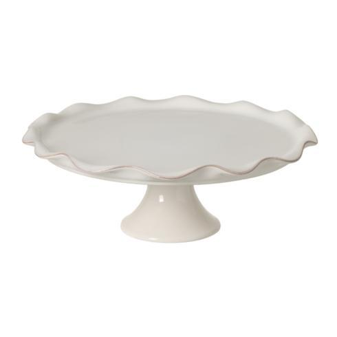 "Casafina  Cook & Host - White Footed Plate 14"" $110.00"
