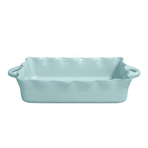 Casafina  Ruffled Bakers Lg. Rect. Ruffled Baker, Blue $70.50