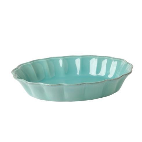 Casafina  South Beach - Turquoise Medium Oval Baker $34.00