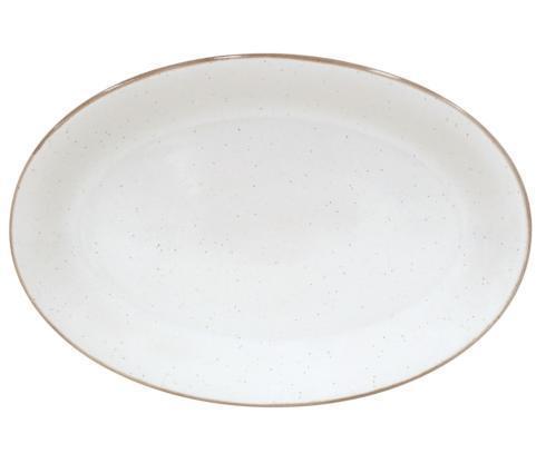 """Casafina  Sardegna - White Oval Platter 18"""" $78.50"""