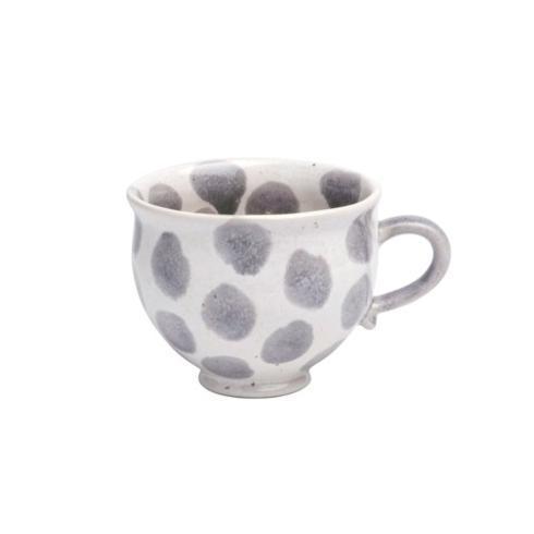 Casafina  Spot On - Gray Spots Breakfast Mug $22.00