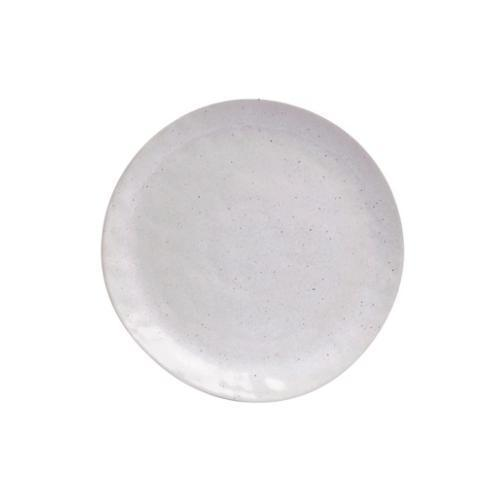 Casafina  Spot On - Solid White Speckle Dinner Plate $26.50