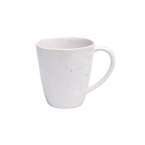 Casafina  Spot On - Solid White Speckle Coffee Mug $19.75