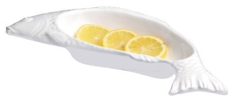 Casafina  Sardinha - White Small Fish Shaped Server $22.00