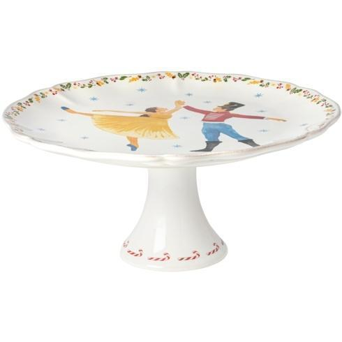 """$146.00 Footed Plate 13"""""""