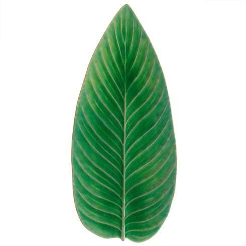 "Costa Nova  Riviera - Tomate Strelizia Leaf 16"" $83.00"