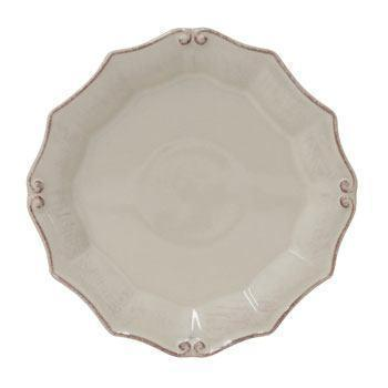 Casafina  Vintage Port - White Round Salad Plate $24.25