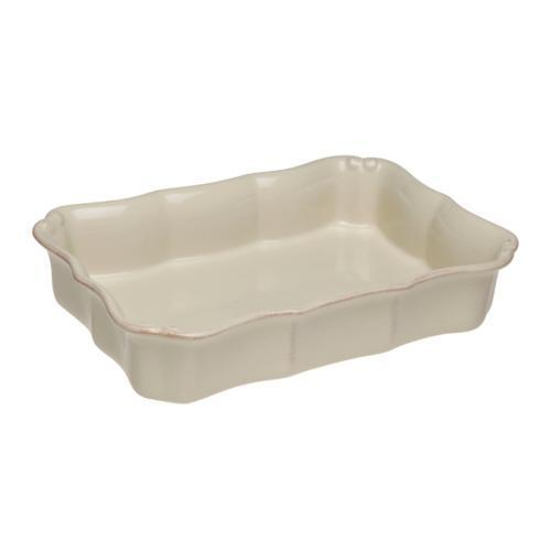 Casafina  Vintage Port - Cream Medium Rectangular Baker $37.50