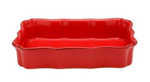 Casafina  Vintage Port - Red Large Rectangular Baker $55.00